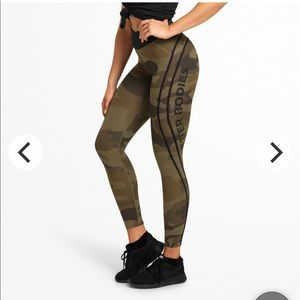 Better bodies workout pants Camo highwaisted